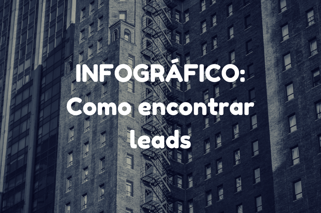 INFOGRÁFICO: Como encontrar leads