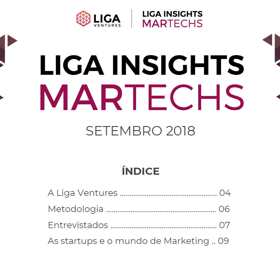 Estudo da Liga Insights mapeia startups de Tecnologia para Marketing (Martechs)
